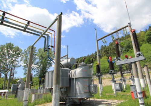 Sub Station within secure site